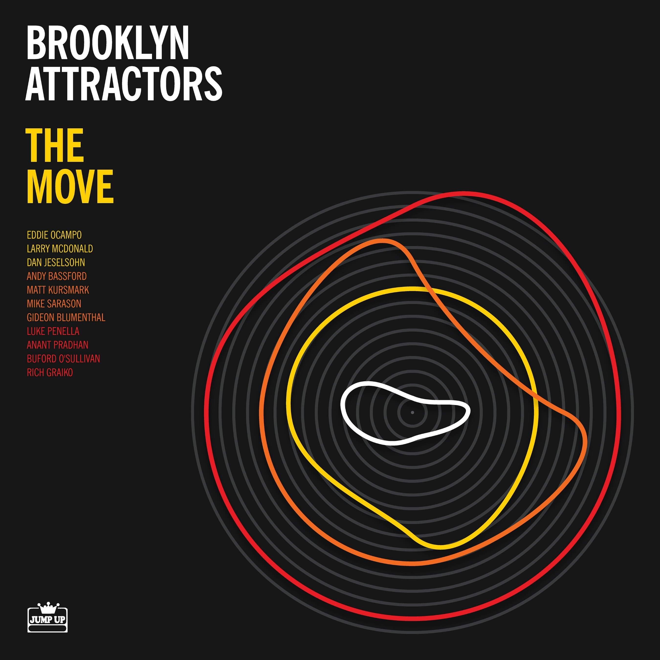 Brooklyn Attractors/THE MOVE (COLOR) LP