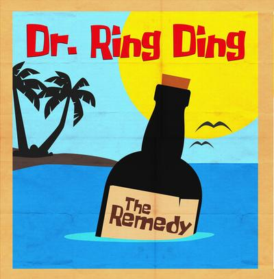 Dr. Ring Ding/THE REMEDY (COLOR) LP
