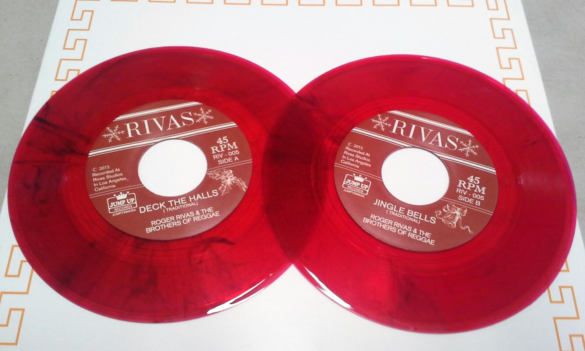 "Roger Rivas(Aggrolites)/XMAS TIME 7"""