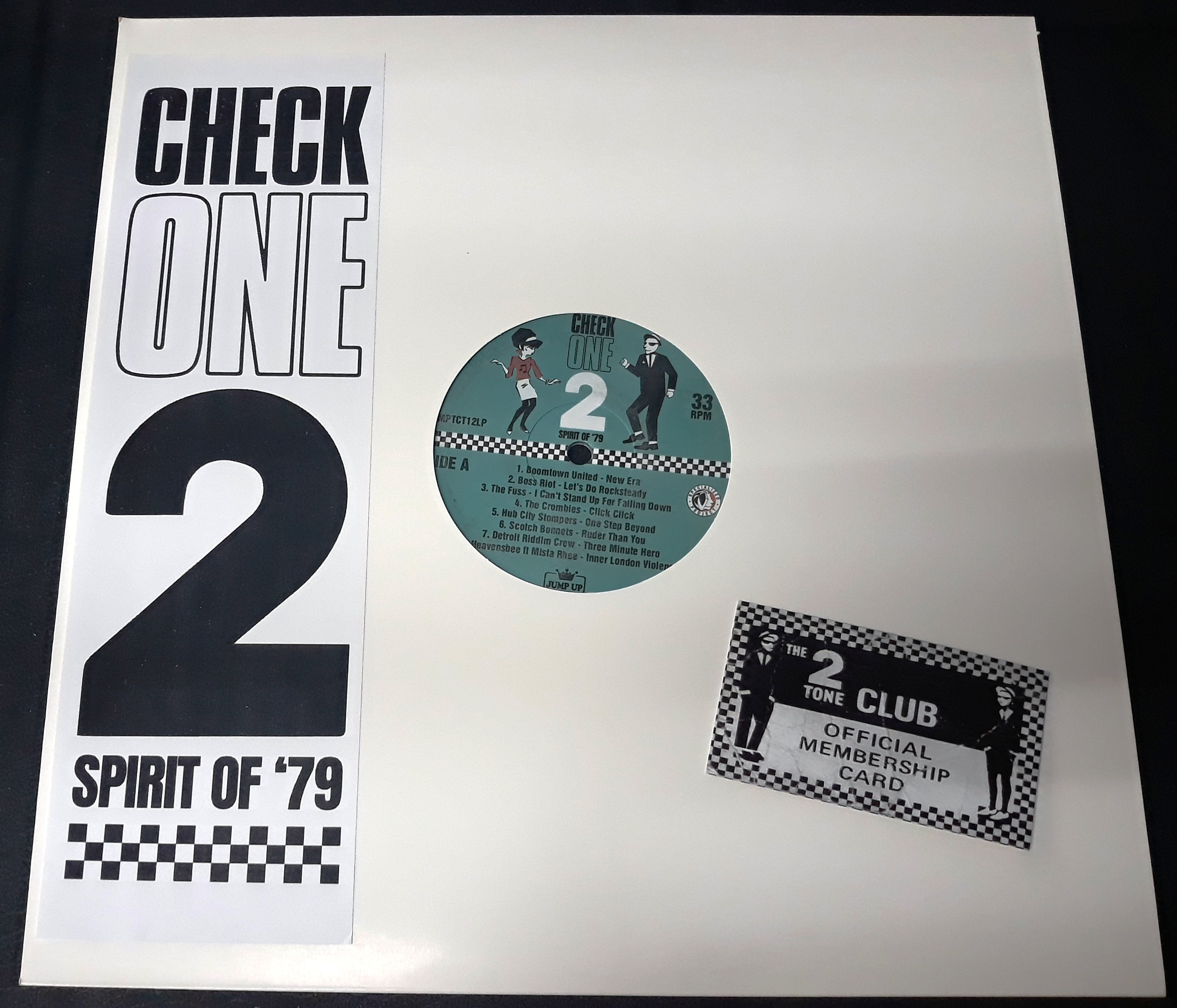 Check One-2/TRIBUTE TO 2 TONE (COLOR) LP