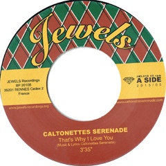 "Caltonettes Serenade/ALL THAT I NEED 7"""
