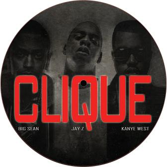 """Kanye West/CLIQUE REMIX 12"""""""