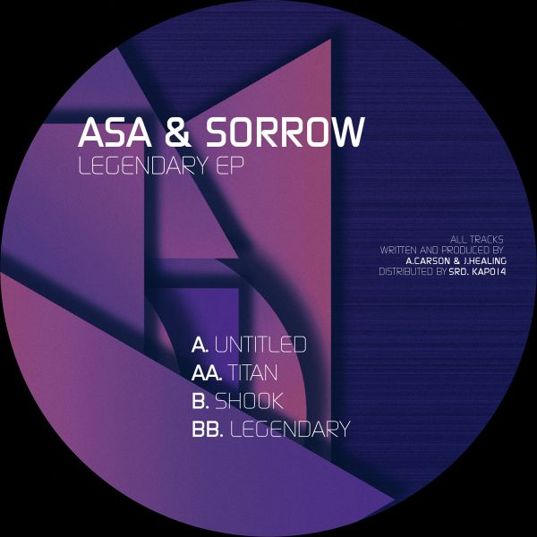 Asa & Sorrow/LEGENDARY EP 12""