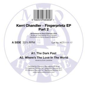 """Kerri Chandler/FINGERPRINTZ EP PT. 2 12"""""""
