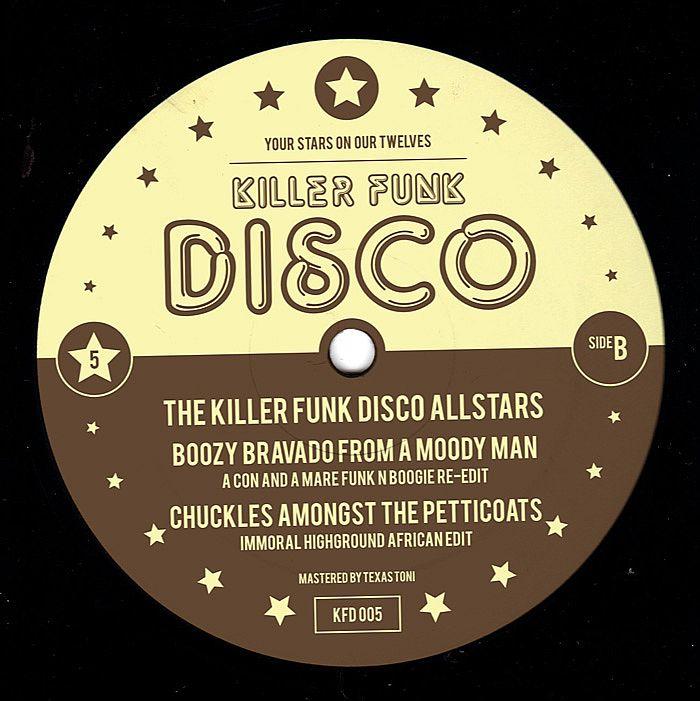 "Killer Funk Disco Allstars/VOL.5 12"""