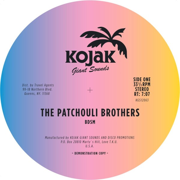 Patchouli Bros/BDSM 12""