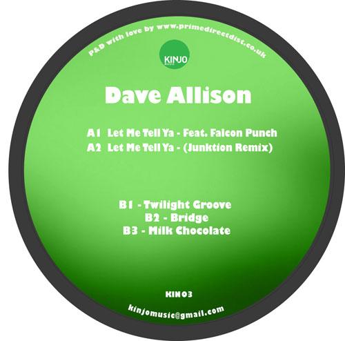 """Dave Allison/LET ME.. (JUNKTION RMX) 12"""""""