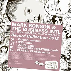 """Mark Ronson/RECORD COLLECTION 2012  12"""""""