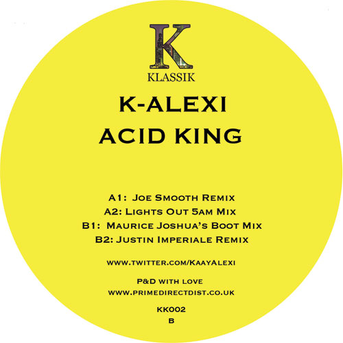 """K-Alexi/ACID KING 12"""""""