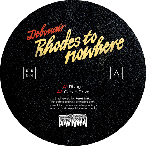 "Debonair/RHODES TO NOWHERE EP 12"""