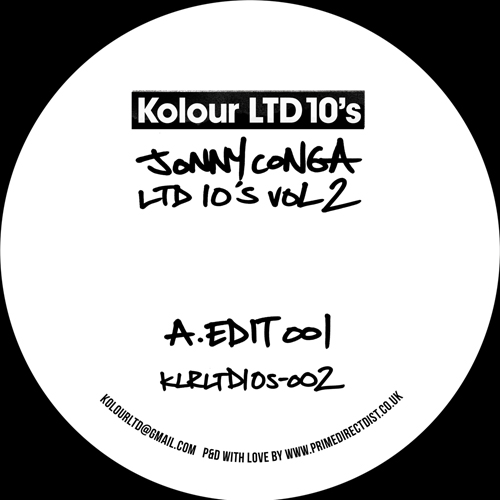 "Jonny Conga/LTD 10""s VOL. 2 10"""