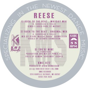Reese/ROCK TO THE BEAT 12""