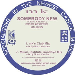 "MK/SOMEONE NEW 12"""