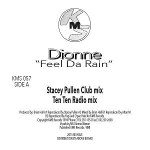 "Dionne/FEEL DA RAIN & REMIXES 12"""