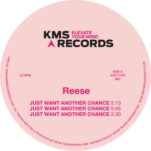 """Reese/JUST WANT ANOTHER CHANCE 12"""""""