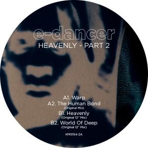 "E-Dancer/HEAVENLY PART 2 12"""