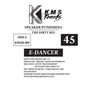 """E-Dancer/SPEAKER PUNISHING 12"""""""