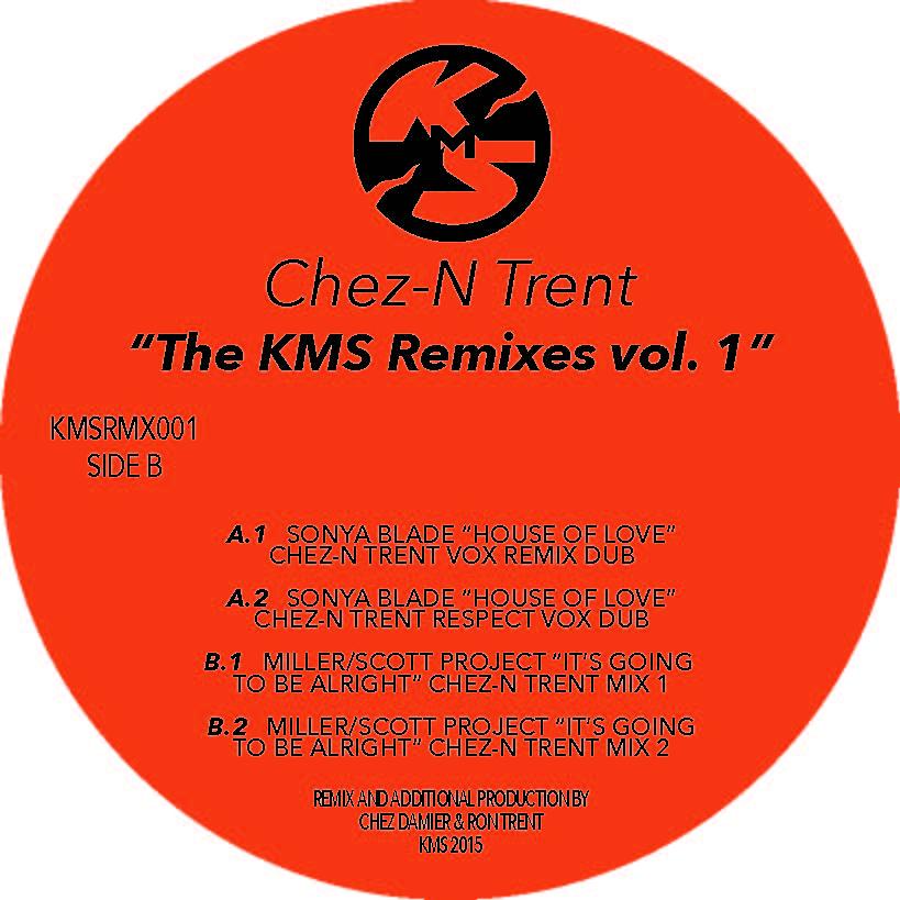 """Chez N' Trent/THE KMS REMIXES VOL. 1 12"""""""