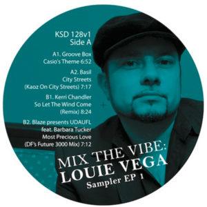 """Louie Vega/MIX THE VIBE SAMPLER #1 12"""""""