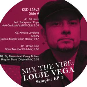 """Louie Vega/MIX THE VIBE SAMPLER #2 12"""""""