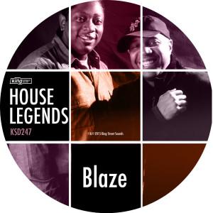 "Blaze/HOUSE LEGENDS EP #1 12"""