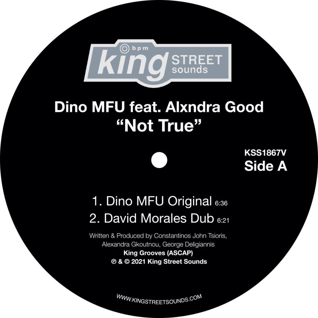 "Dino MFU/NOT TRUE (DAVID MORALES RX) 12"""