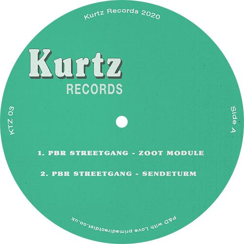 "PBR Streetgang/SENDETURM EP 12"""