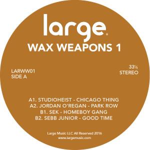 "Various/WAX WEAPONS VOL. 1 12"""