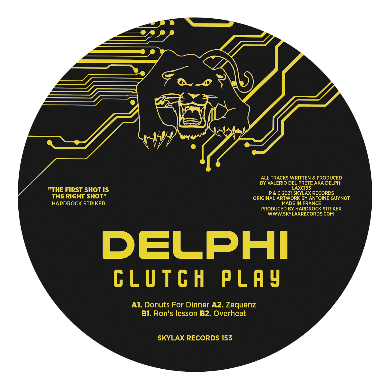 "Delphi/CLUTCH PLAY EP 12"""