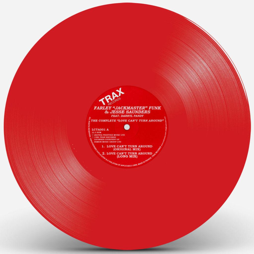 "Farley Jackmaster Funk/LOVE... (CV) 12"""
