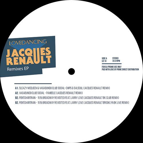 """Jacques Renault/LOVEDANCING REMIXES 12"""""""