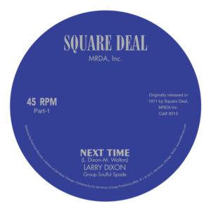"""Larry Dixon/NEXT TIME 7"""""""