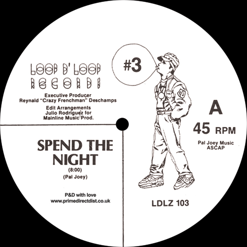 Pal Joey/SPEND THE NIGHT 12""