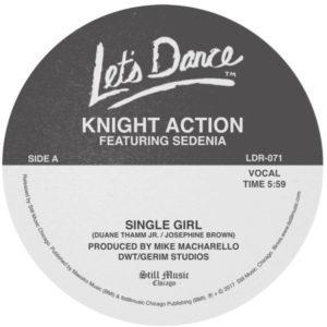 "Knight Action/SINGLE GIRL 12"""