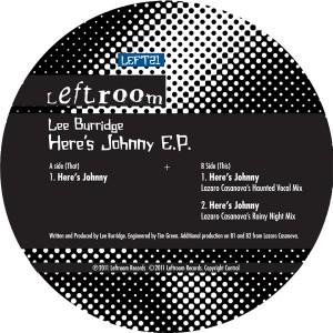 """Lee Burridge/HERE'S JOHNNY EP 12"""""""