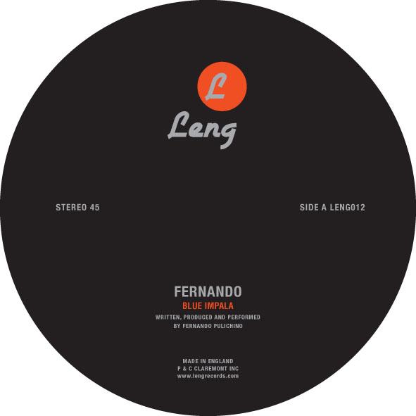 "Fernando/BLUE IMPALA-RAY MANG REMIX 12"""