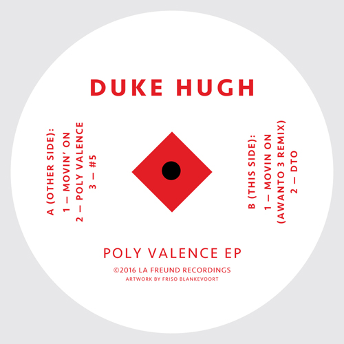 Duke Hugh/POLY VALENCE EP 12""