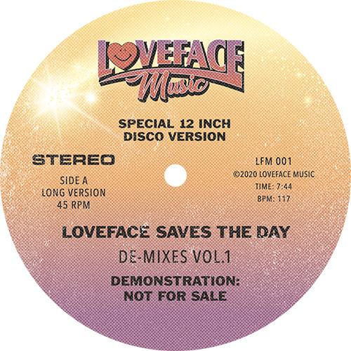 """Loveface/DE-MIXES VOL. 1 12"""""""