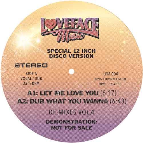 """Loveface/DE-MIXES VOL. 4 12"""""""