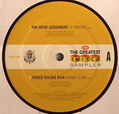 """Greatest Switch Smplr/NEON JUDGMENT 12"""""""