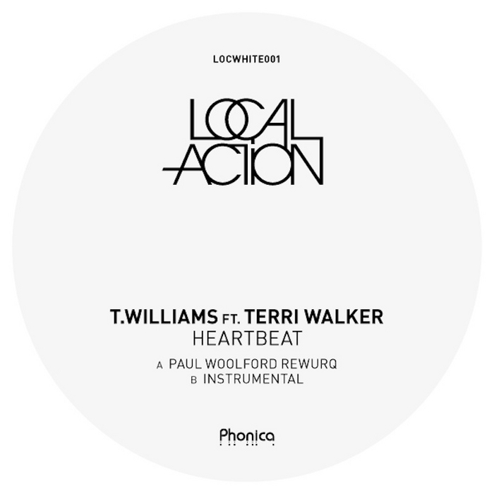 """T. Williams/HEARTBEAT-P. WOOLFORD RX 12"""""""