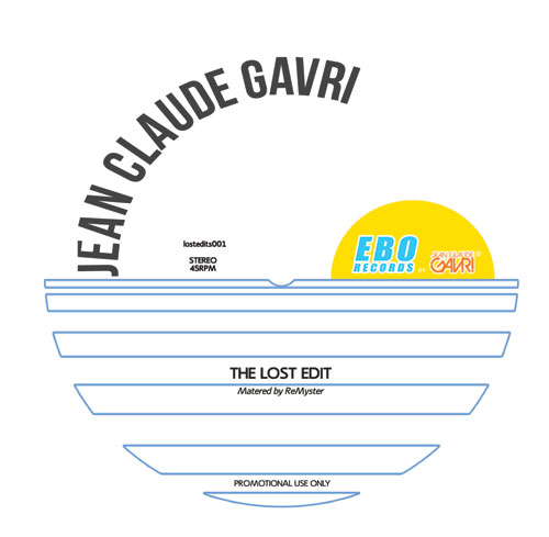 """Jean Claude Gavri/THE LOST EDIT 12"""""""