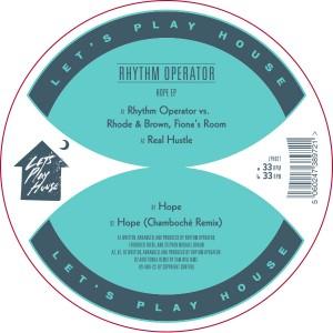 "Rhythm Operator/HOPE 12"""