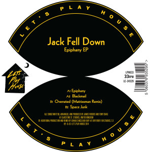 Jack Fell Down/EPIPHANY EP 12""