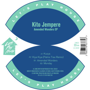Kito Jempere/AMENDED WONDERS 12""