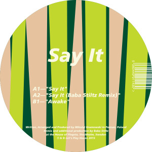 Klaves/SAY IT (BABA STILTZ REMIX) 12""
