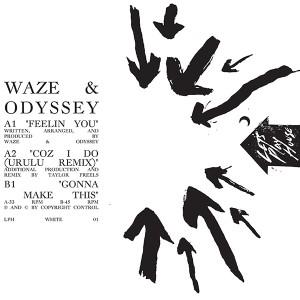 """Waze & Odyssey/FEELIN' YOU 12"""""""