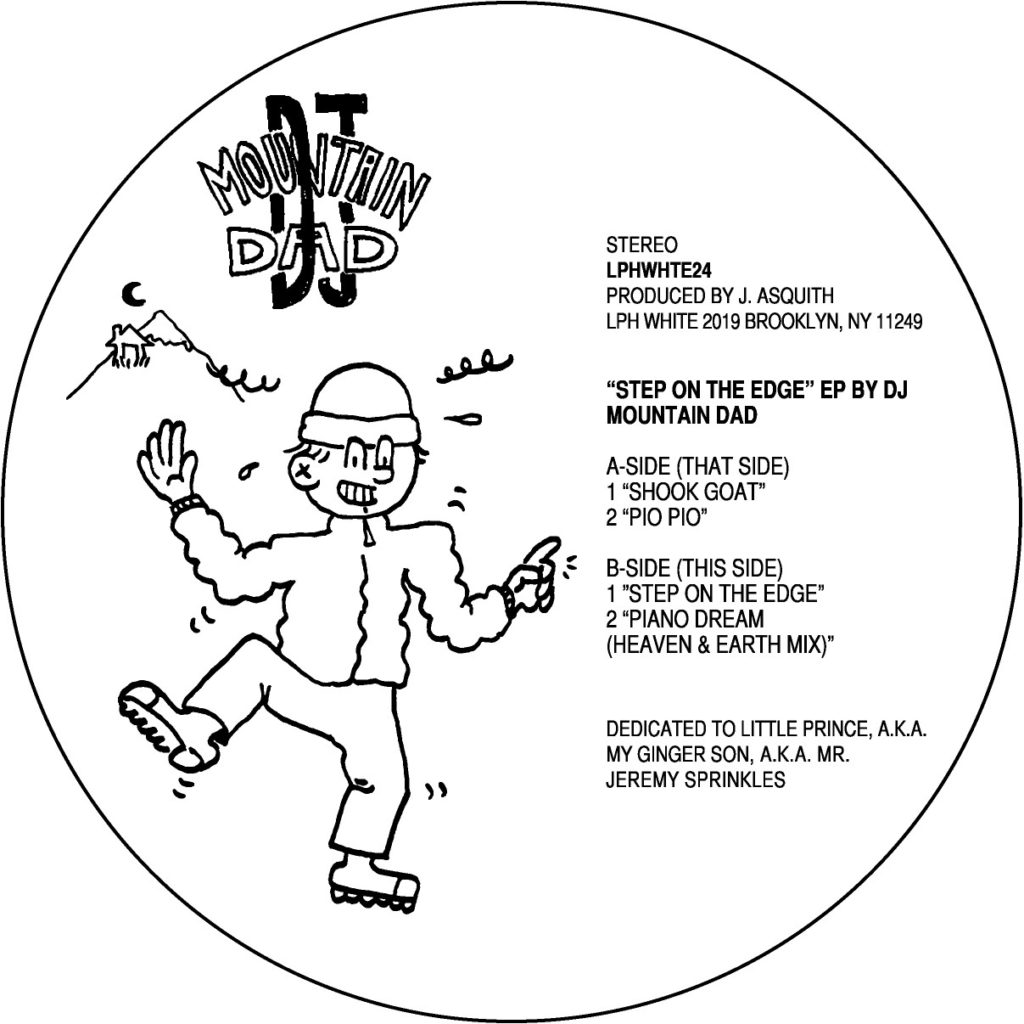 DJ Mountain Dad/STEP ON THE EDGE EP 12""