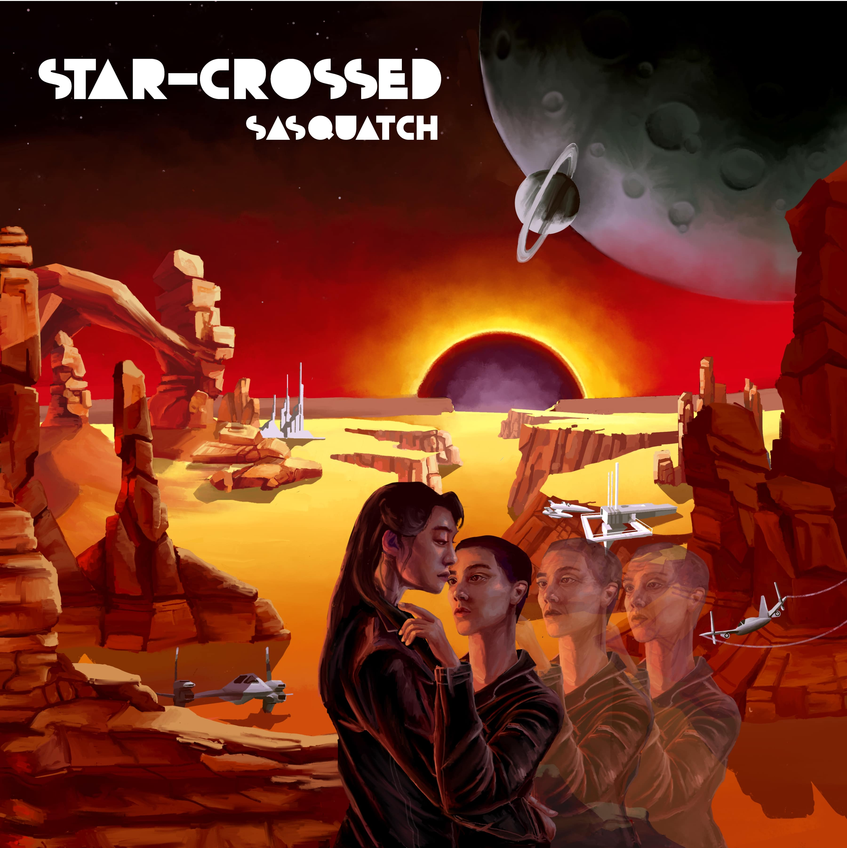 "Sasquatch/STAR CROSSED EP 12"""