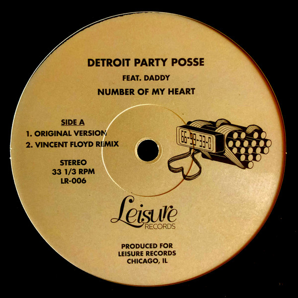 """Detroit Party Posse/NUMBER OF MY... 12"""""""